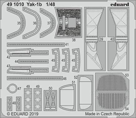 Набор фототравления  Як-1б. 1/48 EDUARD 491010, фото 2