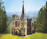 Сборная модель из картона Готический собор серии Средневековый город Умная бумага (255)