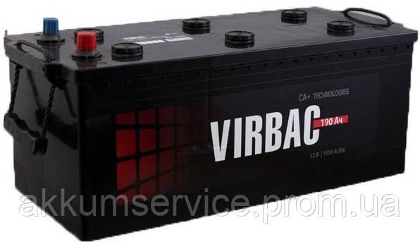 Аккумулятор грузовой Virbac Classic 190AH 3+ 950A (M2) Truck