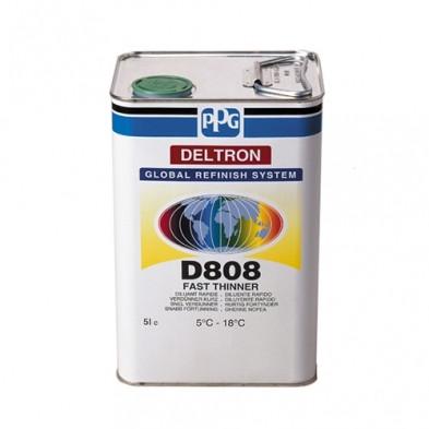 D808 Быстрый разбавитель DELTRON FAST THINNER (для температур 5-18°C)5L.