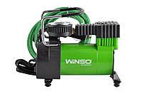 Автокомпрессор, автомобильный компрессор 12V, WINSO 150W, 7атм, 35л/мин, насос в авто от прикуривателя.