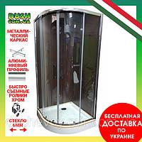 Душевая кабина Veronis KN-3-80 PREMIUM 80х80х204 прозрачное стекло