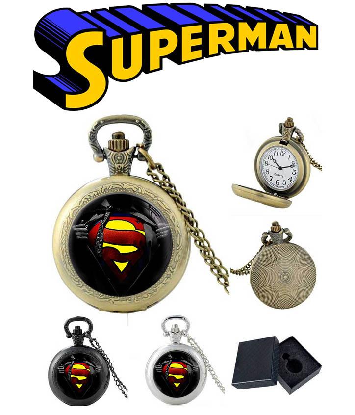 Карманные часы S Супермен / Superman