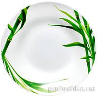 Тарелка керамическая S&T 9 Бамбук зеленый 3081