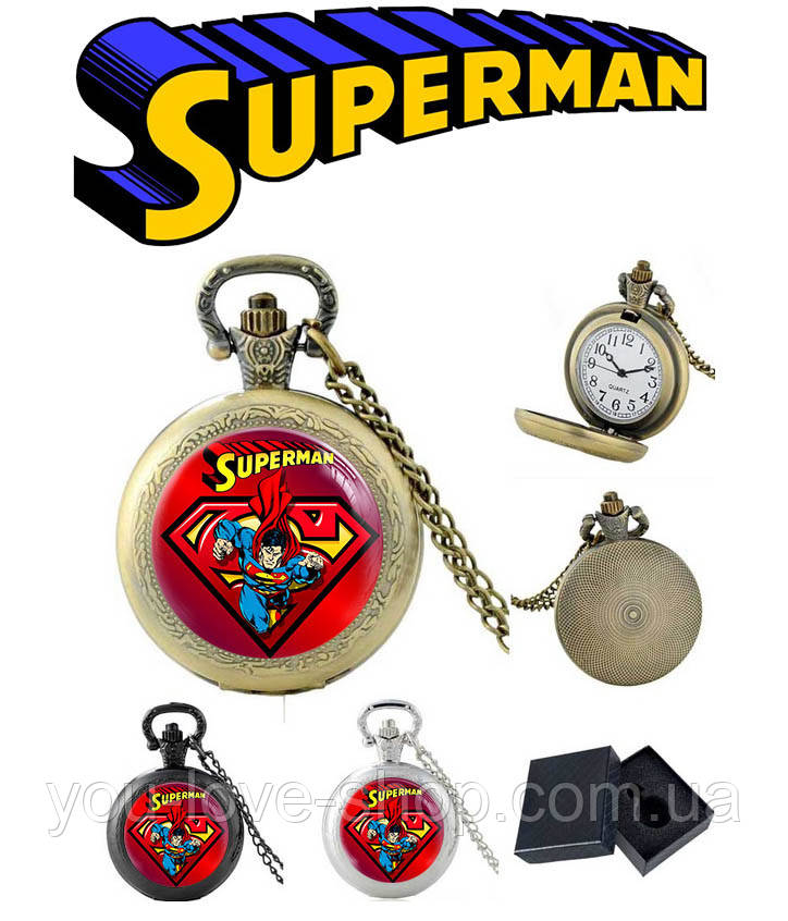 Карманные часы Comics Супермен / Superman
