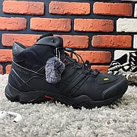 Зимние ботинки (на меху) мужские Adidas Terrex (реплика) 3-142 ⏩ [ 43,44,44,46 ], фото 1