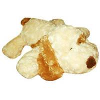 Мягкая игрушка - СОБАКА (белый, рыжее ухо, 32 см) GRAND (3202GCС)