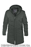 Куртка зимняя мужская HDGF 19-19016 хаки, фото 1