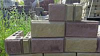 Блок строительный ОТДЕЛОЧНЫЙ (односторонний) Узин, 390*190*90
