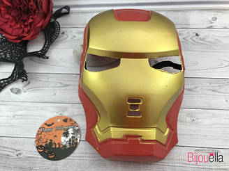 Карнавальная маска киногероя - Железный Человек на костюмированный праздник или вечеринку