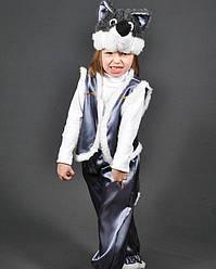 Дитячий новорічний карнавальний костюм ВОВК на 5,6,7,8 років дитячий новорічний маскарадний костюм ВОВКА