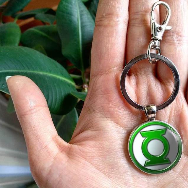 Брелок Зеленый Фонарь / The Green Lantern / DC