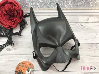 Карнавальная маска Бэтмена на новогоднюю костюмированную вечеринку, утренник, маскарад