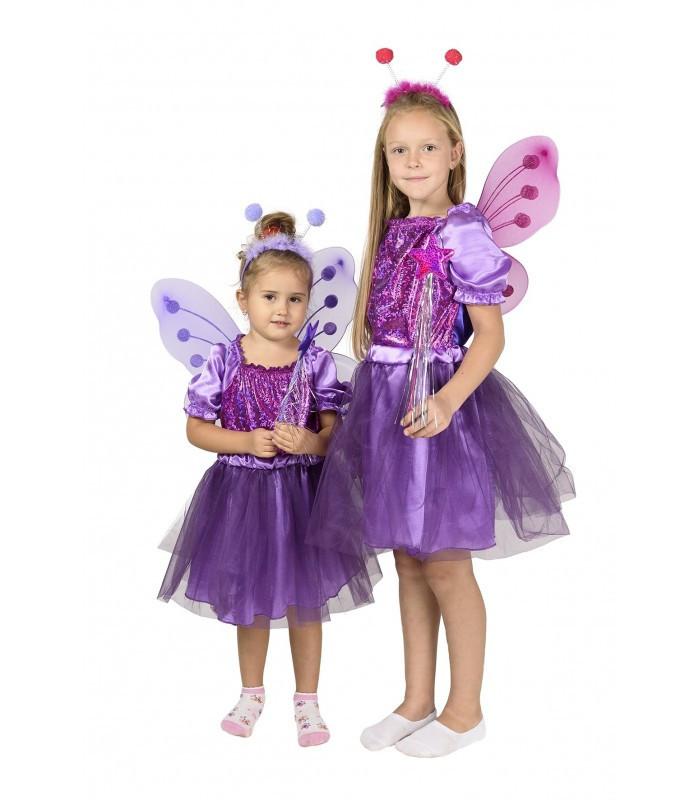 Детский карнавальный костюм Бабочки на Новый Год, утренник