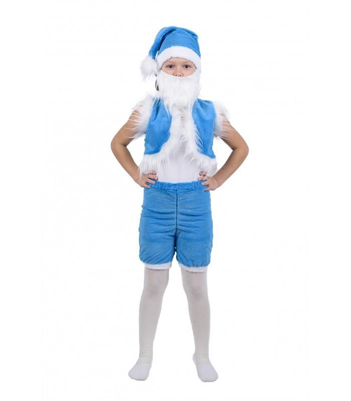 Хутровий дитячий костюм Гнома, блакитний на Новий Рік, свято, карнавал