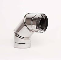 Н/Н Отвод 90° двуст. (АISI 304/430) d160/220 мм