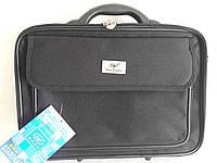 Сумка мужская,дипломат,для ноутбука,документов,кейс,черный Star Dragon (40×30×10см)портфель, фото 1