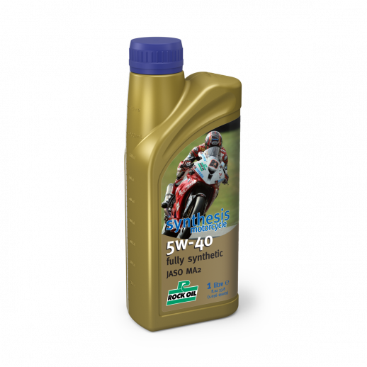 Масло моторное ROCK OIL Synthesis Motorcycle 5W40, 1L