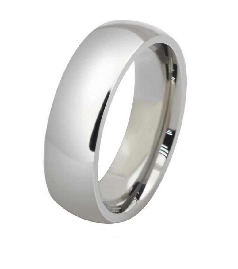 Стальное обручальное кольцо