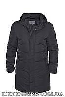 Куртка зимняя мужская HDGF 19-19016 черная, фото 1