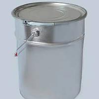 Ведро Евроведро металлическое с крышкой под обруч 10 литров