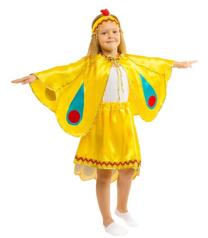 На ранок, виступи костюм Жар-птиці, маскарадний, дитячий, зростання 110-134 див.