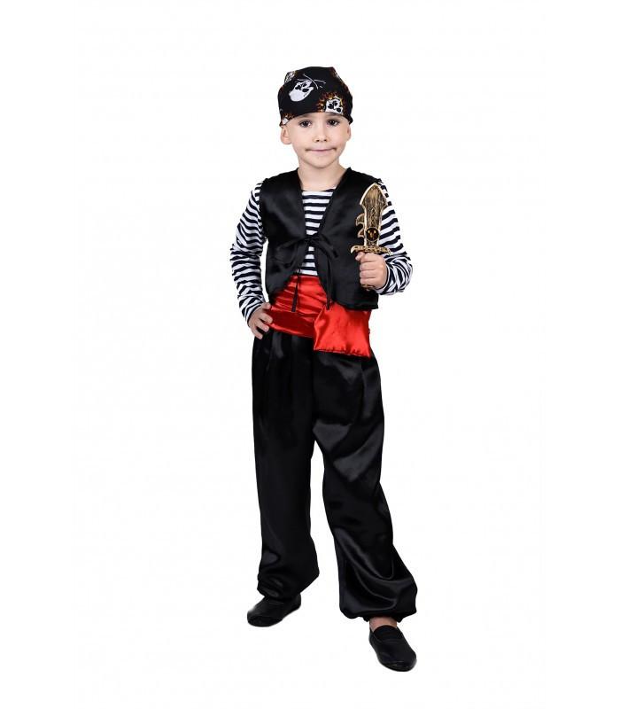 Костюм карнавальный Разбойника от 4 до 9 лет для мальчиков на новогодний утренник