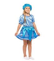 Маскарадный комплект для девочки Капелька, Ручеек, Облачко, Тучка голубого цвета