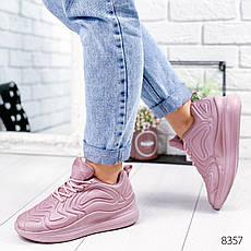"""Кроссовки женские """"Stavle"""" лилового цвета из текстиля. Кеды женские. Мокасины женские. Обувь женская, фото 2"""