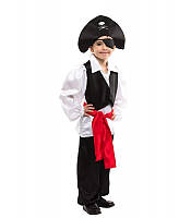 Отважный покоритель морей, костюм маскарадный Пират для мальчиков