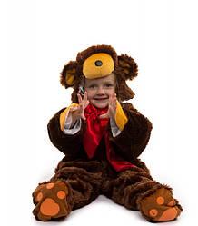 Карнавальный костюм Мишка - малыш для младенцев 0.5-2.5 лет пижамка для деток