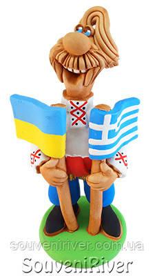 """Статуэтка """"Украина - Греция"""""""