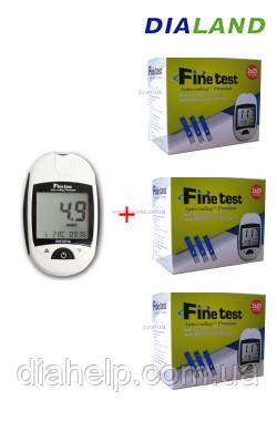 Глюкометр Файнтест Премиум (Finetest Premium) + 150 полосок