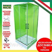 Душевая кабина Veronis KNS-90 прозрачное стекло 90х90х180 без поддона