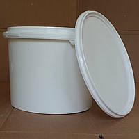 Ведро пластиковое с крышкой 5 литров