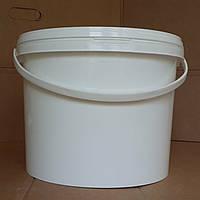 Ведро пластиковое с крышкой 10 литров
