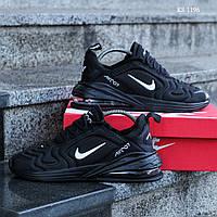 Мужские кроссовки Nike Air Max 270 (черные)