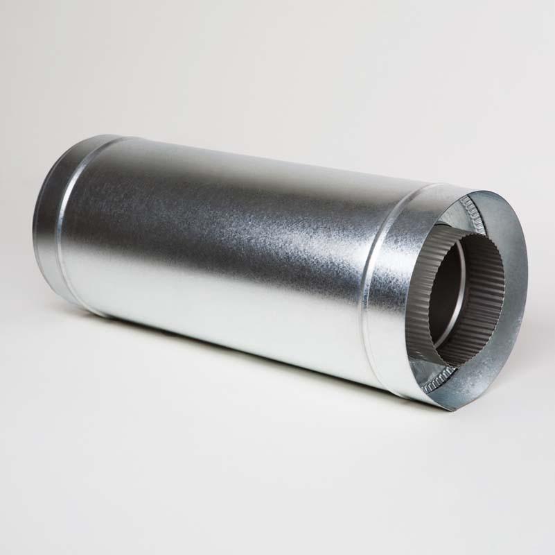 Н/ОЦ Труба вставка (AISI 304/ОЦ) L0,5 м d100/160 мм