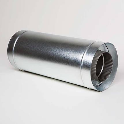 Н/ОЦ Труба вставка (AISI 304/ОЦ) L0,5 м d100/160 мм, фото 2