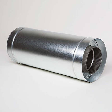 Н/ОЦ Труба вставка (AISI 304/ОЦ) L0,5 м d160/220 мм, фото 2