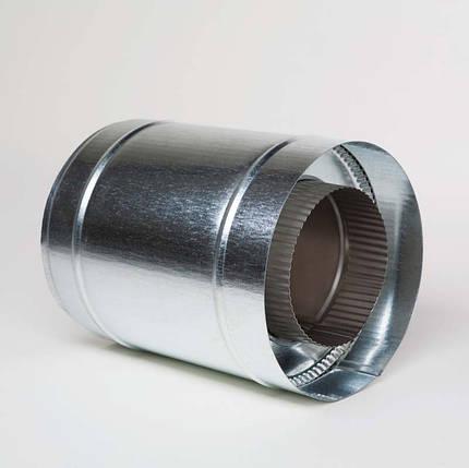 Н/ОЦ Труба вставка (AISI 304/ОЦ) L0,25 м d130/200 мм, фото 2