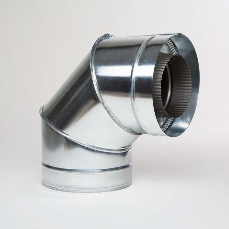 Н/ОЦ Отвод 90° двуст. (AISI 304/ОЦ) d200/260 мм