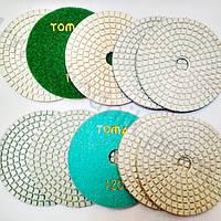 Черепашка зерно 50 гибкий полировальный, шлифовальный алмазный круг Tomax