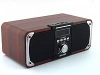 Портативная bluetooth колонка с  дисплеем ,с лучшим звуком, с лучшим приемом радио ATLANFA AT-1833