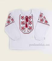 Рубашка в этно-стиле для девочки Bembi РБ100 терикоттон 80