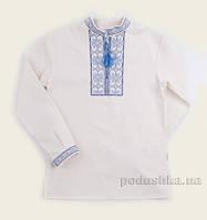 Рубашка в этно-стиле для мальчика Bembi РБ99 лен 134