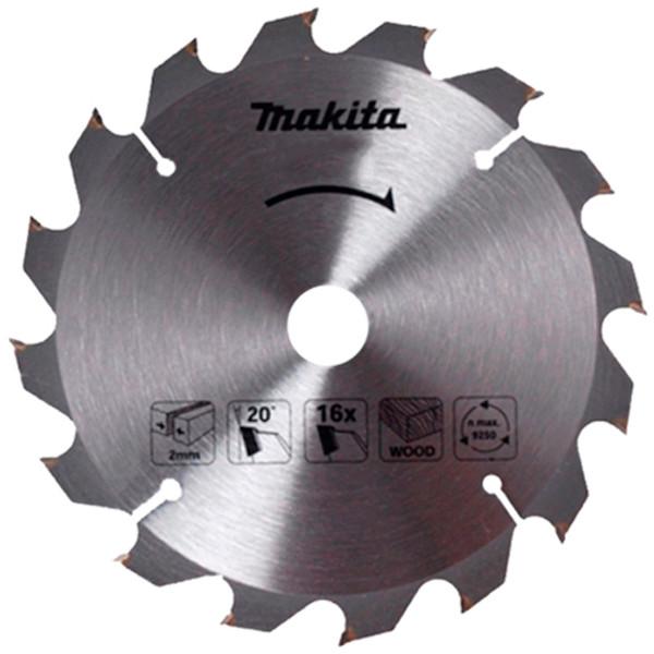 Пильный диск Makita ТСТ по дереву 185x30мм x 16 зубьев (D-52582)