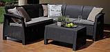 Corfu Relax Set садові меблі з штучного ротанга, фото 2
