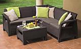 Corfu Relax Set садові меблі з штучного ротанга, фото 4