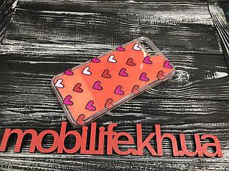 Чехол iPhone 7Plus,8Plus Сердечко/Жидкий Песок/Высокое качество